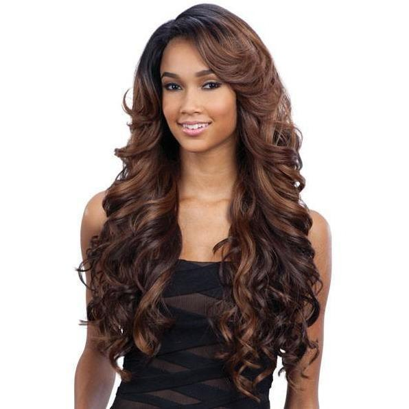 FreeTress Equal Deep Invisible L Part Synthetic Lace Front Wig – Karissa