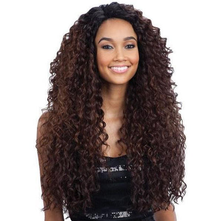 FreeTress Equal Deep Invisible L Part Synthetic Lace Front Wig – Kitron