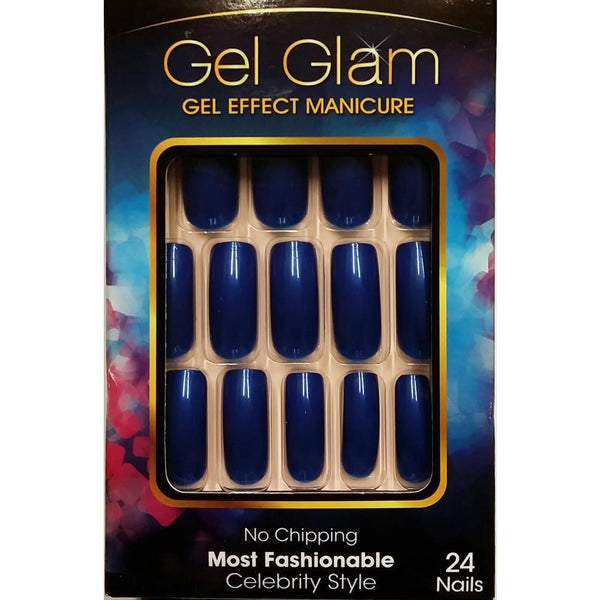 GoldFinger By Kiss Gel Glam Nails – GFC04