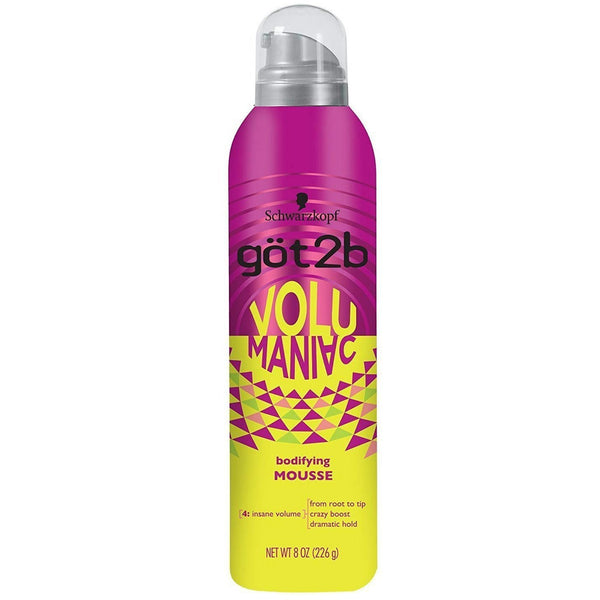 got2b Volumaniac Bodifying Mousse 8 OZ