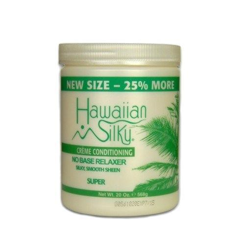 Hawaiian Silky Creme Conditioning No Base Relaxer SUPER 20 OZ