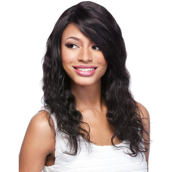 It's A Wig! Salon Human Hair Lace Front Wig – HH Part Lace Body Wave 20""