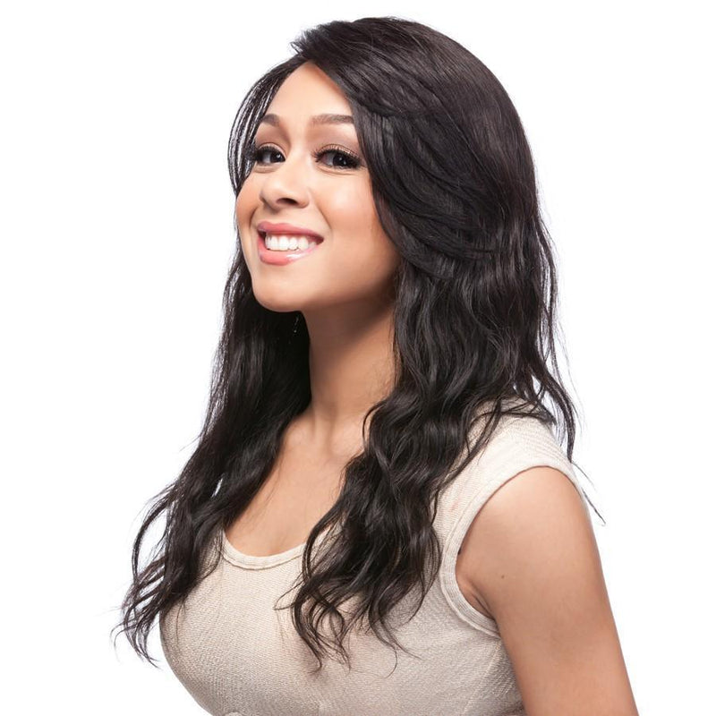 It's A Wig! Salon Human Hair Lace Front Wig – HH Part Lace Natural Wave 20""
