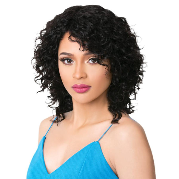 It's A Wig! Brazilian Wet & Wavy Human Hair Wig - HH Rana