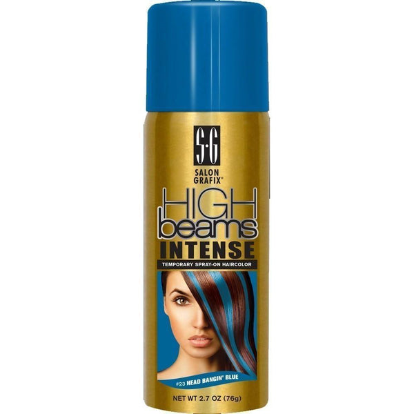 High Beams Intense Temporary Spray-On Haircolor #23 Headbanging Blue