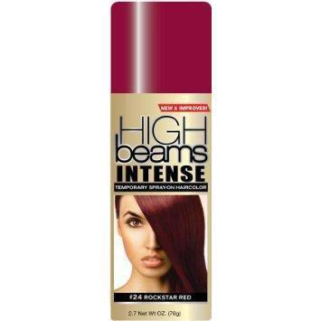 High Beams Intense Temporary Spray-On Haircolor #24 Rockstar Red