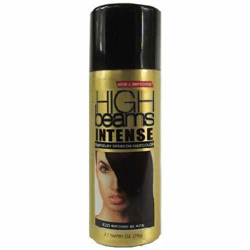 High Beams Intense Temporary Spray-On Haircolor #30 Brown Black