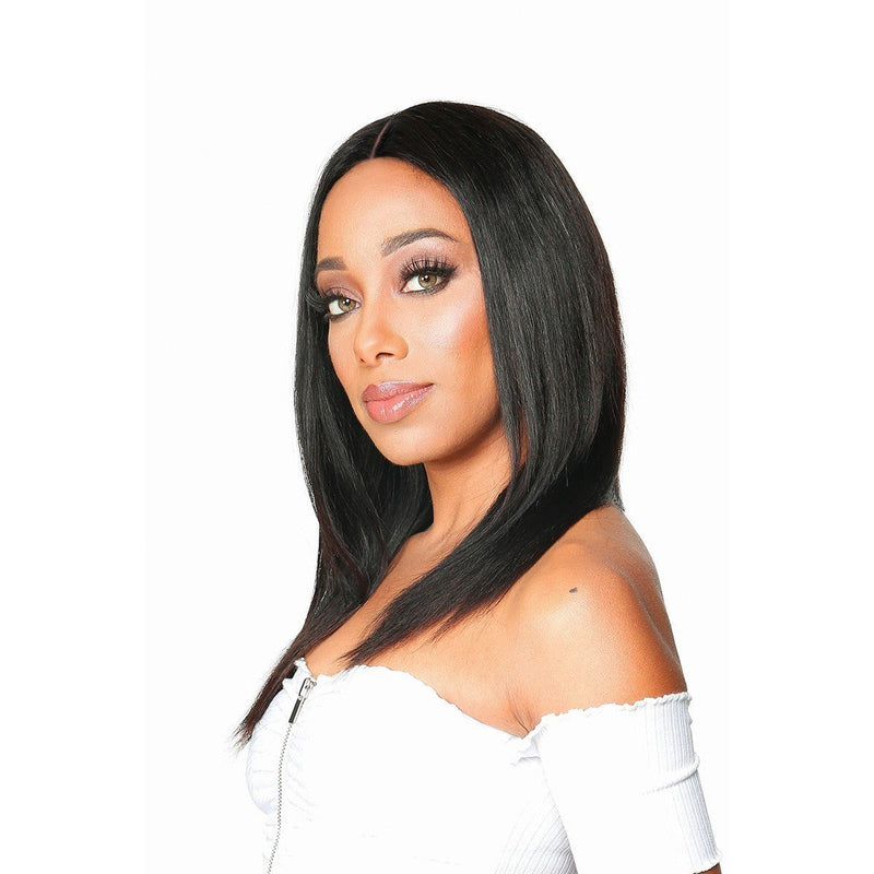 Zury Sis Wet & Wavy Brazilian Remy 100% Virgin Human Hair HD Lace Front Wig - Pio