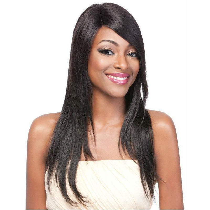 It's A Wig! Salon Human Hair Lace Front Wig – HH Part Lace Straight 24""