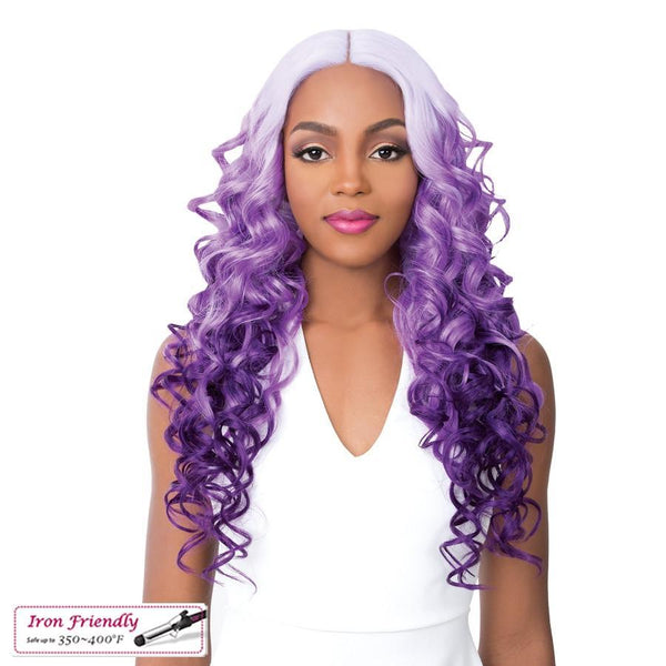 It's A Wig! Soft & Silky Synthetic Swiss Lace Front Wig – Houston-2