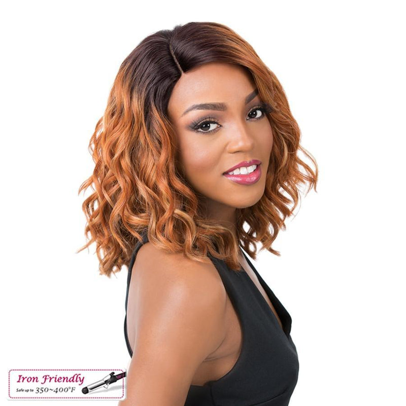 It's A Wig! Soft & Silky Synthetic Swiss Lace Front Wig – Oligo
