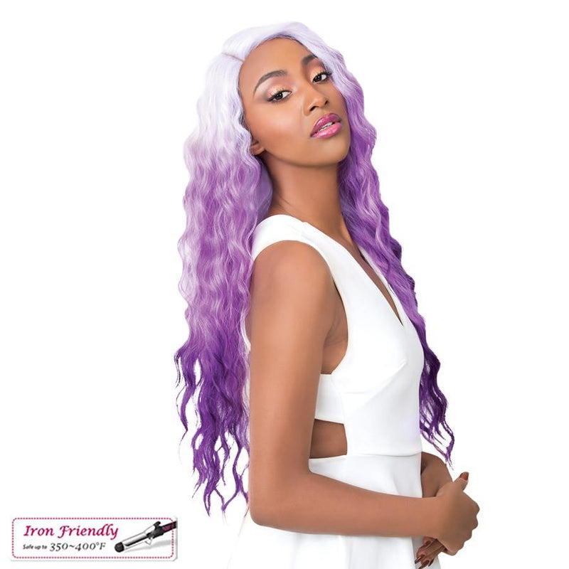 It's A Wig! Soft & Silky Synthetic Swiss Lace Front Wig – Sun Dance-2
