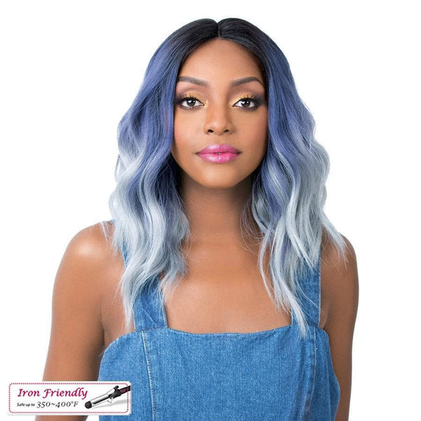 It's A Wig! Soft & Silky Synthetic Swiss Lace Front Wig – Sun Kiss