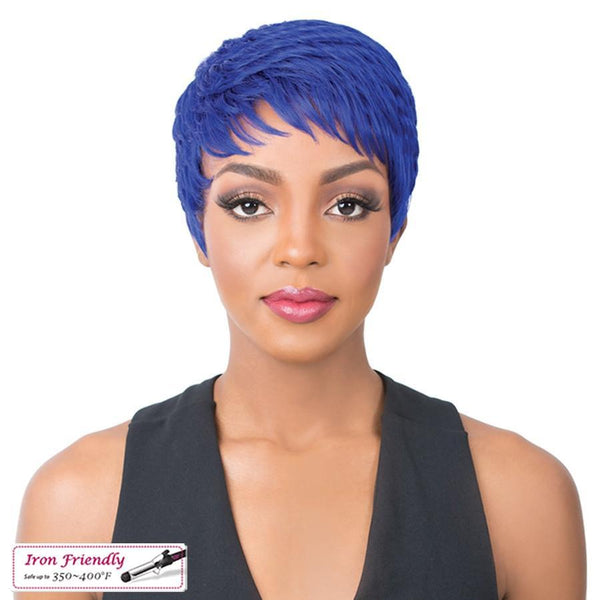 It's A Wig! Iron Friendly Synthetic Wig – Super Cute