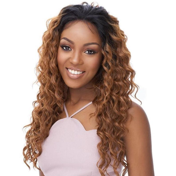 It's A Wig! Human Hair Blend 360 All-Round Deep Lace Wig – Emotion