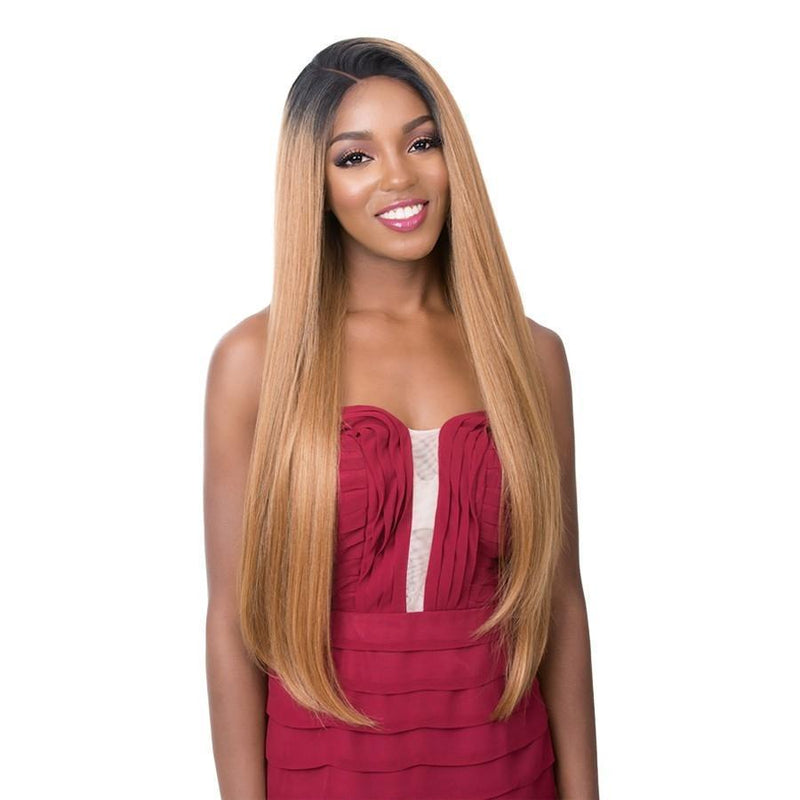 It's A Wig! 360 All-Round Human Hair Blend Deep Frontal Lace Wig – Barbie