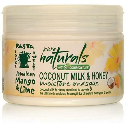 Jamaican Mango & Lime Pure Naturals Coconut Milk & Honey Moisture Masque 12 OZ
