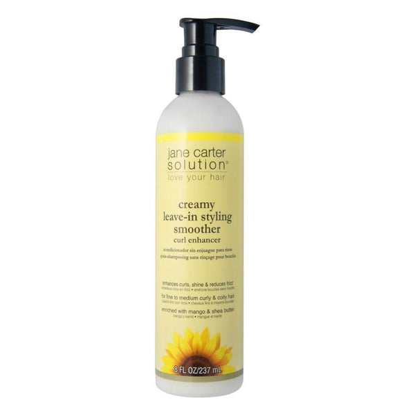 Jane Carter Solution Creamy Leave-In Styling Smoother Curl Enhancer 8 OZ