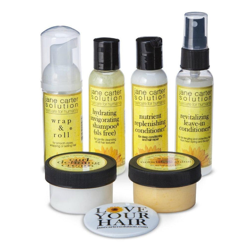 Jane Carter Solution Natural & Curly Hair Care Essential Trial Kit