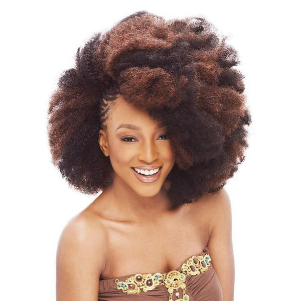 Janet Collection Noir Braids – Afro Kinky Bulk 24""