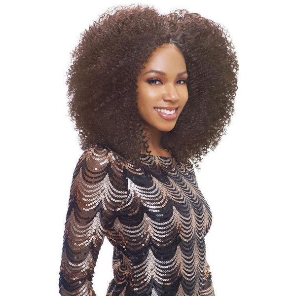 Janet Collection Retro Glam & Vibe 100% Human Hair Weave – 4A Coily Kinky WVG
