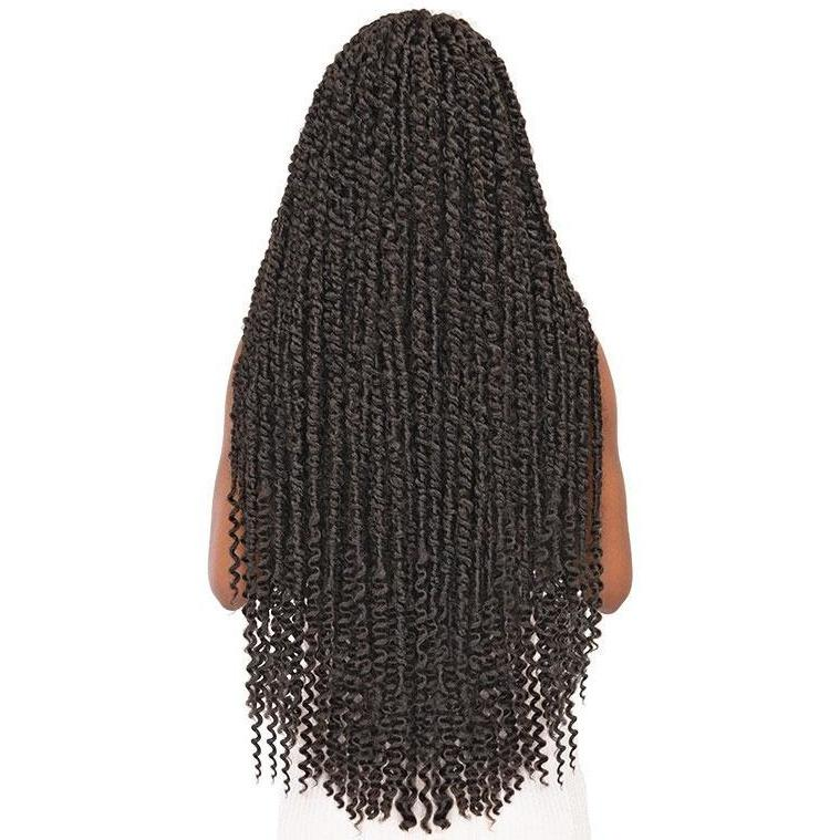 Janet Collection Crochet Synthetic Braids – Passion Twist Braid 24""