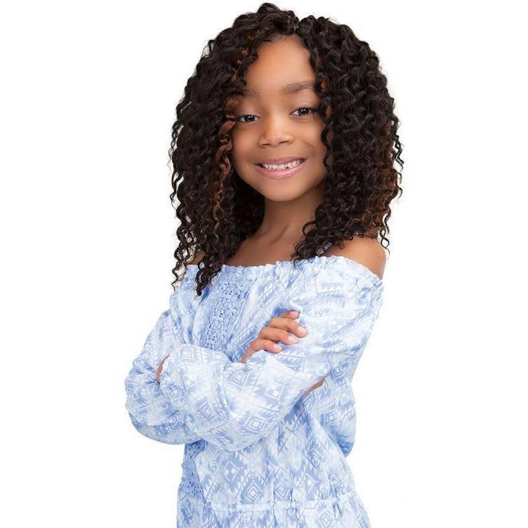 Janet Collection Chic 'N Curly Synthetic Braids – 3X Brazilian 10""