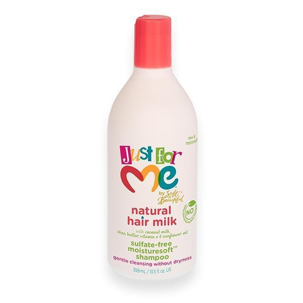 Just For Me Hair Milk Sulfate-Free MoistureSoft Shampoo 13.5 OZ