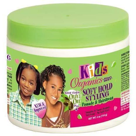 Africa's Best Kids Organics Soft Hold Styling Pomade & Hairdress 4 oz