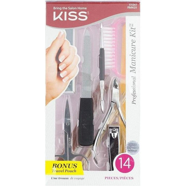 Kiss 14PC Professional Manicure Kit – RMK01