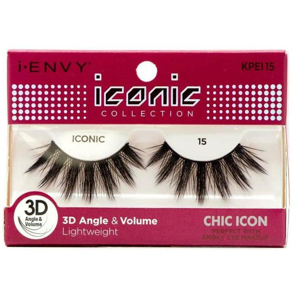 Kiss i-ENVY Chic Icon Lashes Iconic 15 KPEI15