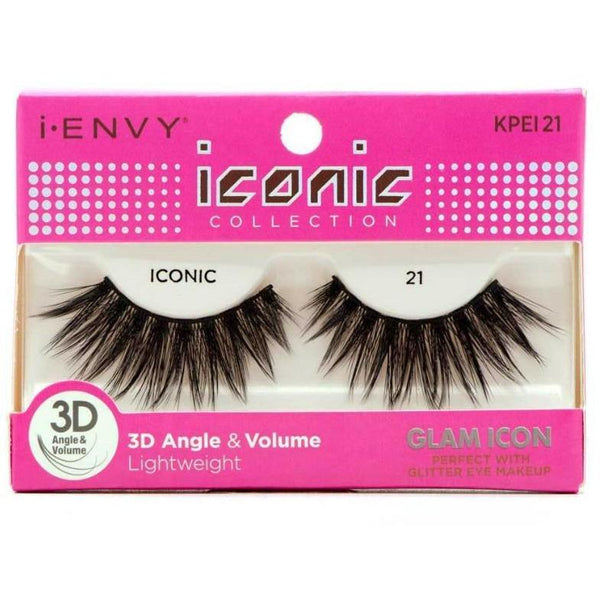 Kiss i-ENVY Glam Icon Lashes Iconic 21 KPEI21