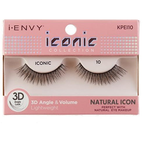 Kiss i-ENVY Natural Icon Lashes Iconic 10 KPEI10