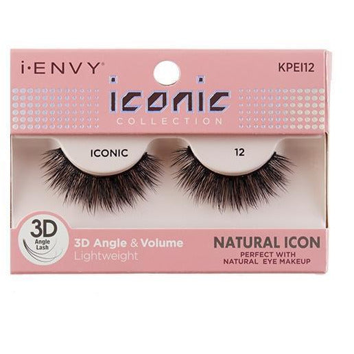 Kiss i-ENVY Natural Icon Lashes Iconic 12 KPEI12