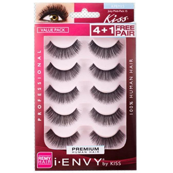 Kiss i-ENVY Lashes Juicy Multi-Pack 15 KPEM15