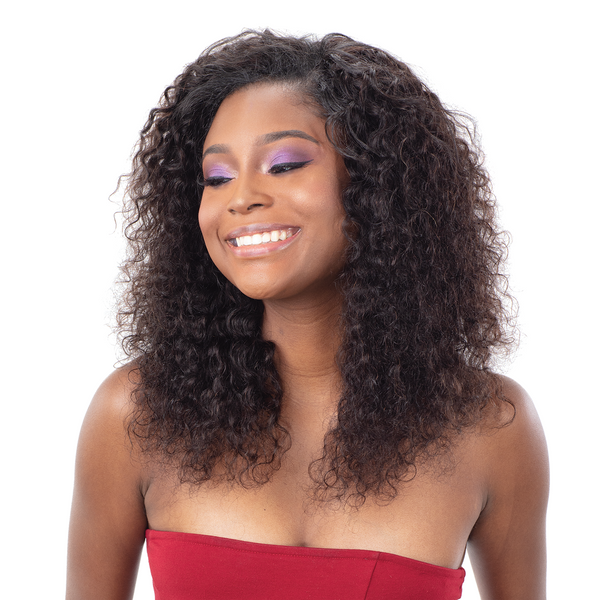 Shake-N-Go Ibiza 100% Virgin Human Hair Wet & Wavy Bundle Weave - Deep 3 PCS
