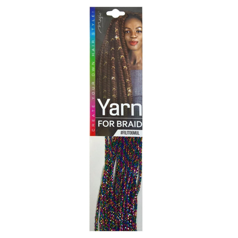 Magic Collection Yarn for Braid, Multiple Color