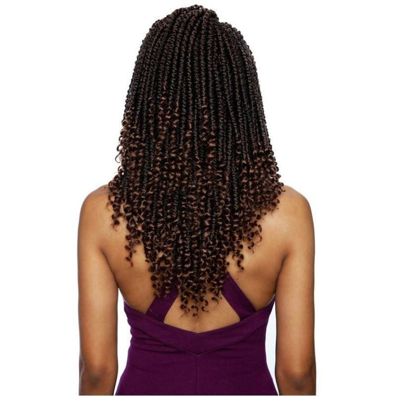 Mane Concept Afri-Naptural Synthetic Crochet Loop Braids - 2X Pre-Stretched Rita Twist 12""
