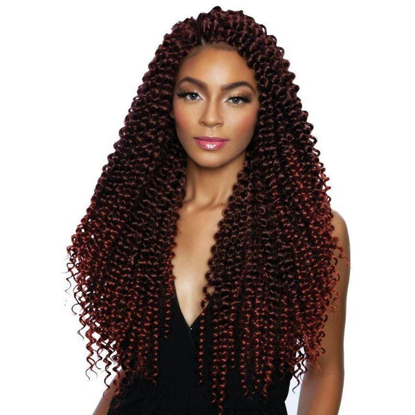 Mane Concept Caribbean Bundle Synthetic Braids – Water Wave 18""