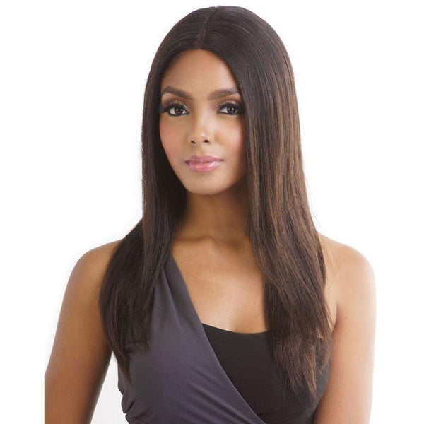 Mane Concept Unprocessed Human Hair Trill Whole Lace Wig – Straight 20""
