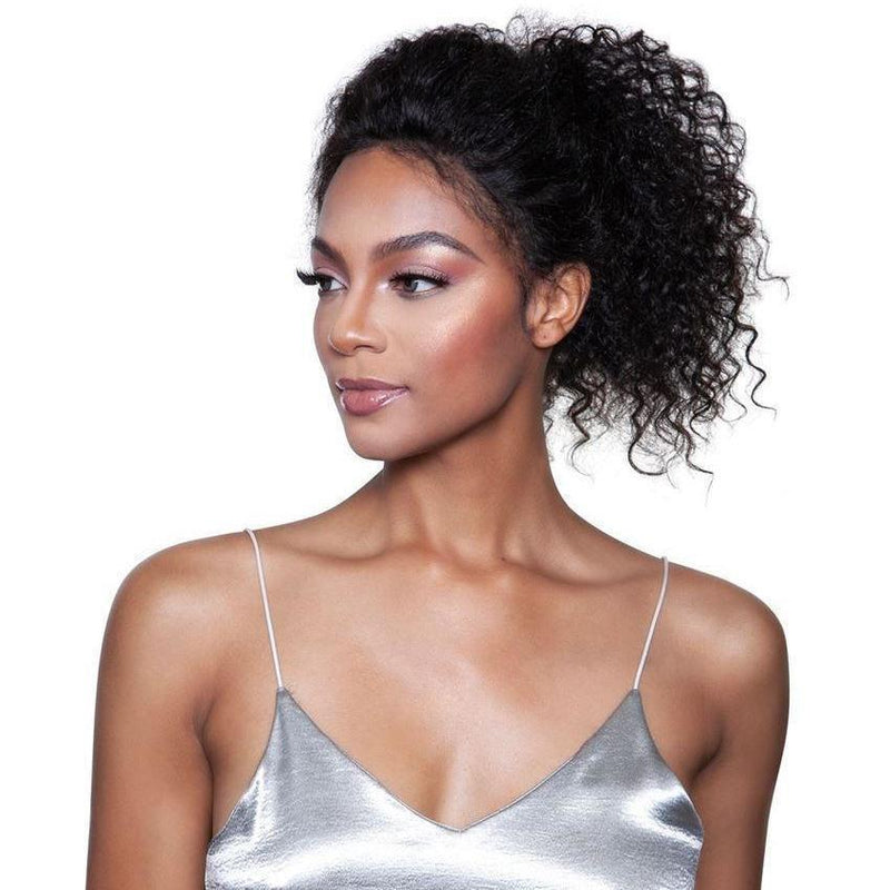 Mane Concept Unprocessed Human Hair Trill Whole Lace Wig – Wet & Wavy Jerry Curl 20-22""