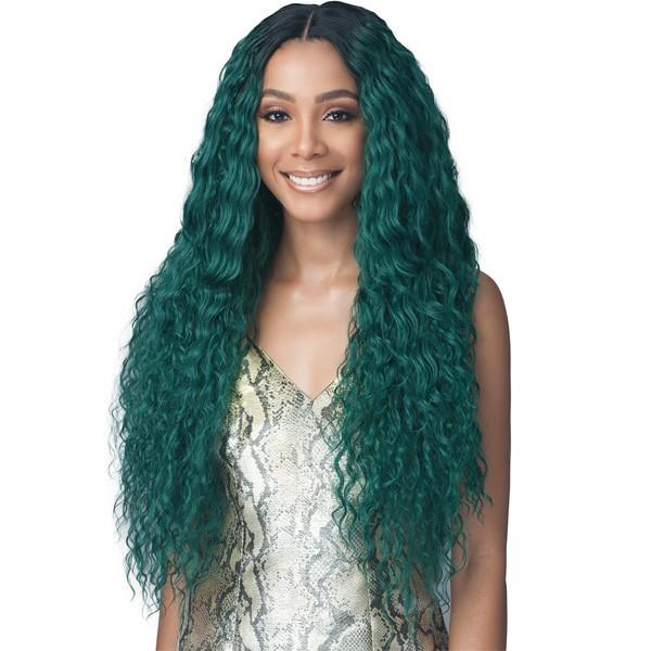 Bobbi Boss Synthetic Infinity Ponytail Braided Lace Front Wig - MLF-399 Amey