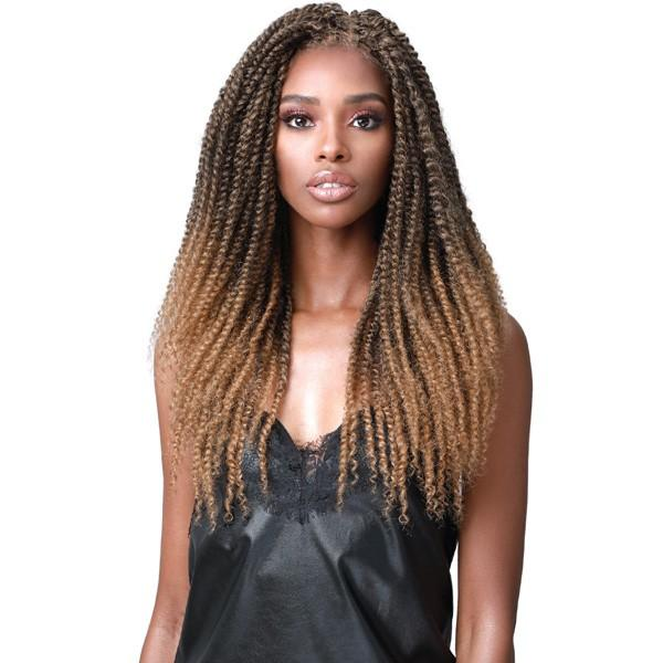 Bobbi Boss Synthetic Boho Twist Lace Front Wig - MLF-523- Amel
