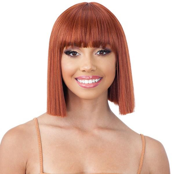 Model Model Synthetic Daily Look Mint Wig - M-03