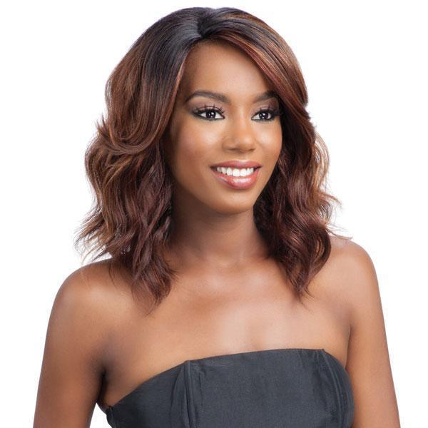 Model Model Deep Invisible L-Part Wig – Jina