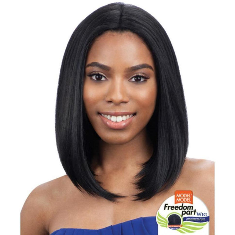Model Model Synthetic Freedom Part Wig – Number 102