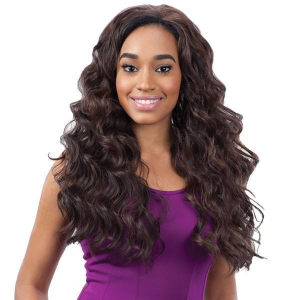 Model Model Fullcap Drawstring Synthetic Half Wig – Bellini