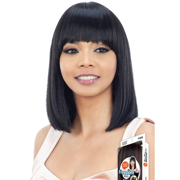 Model Model Freedom Synthetic Wig – Number W01