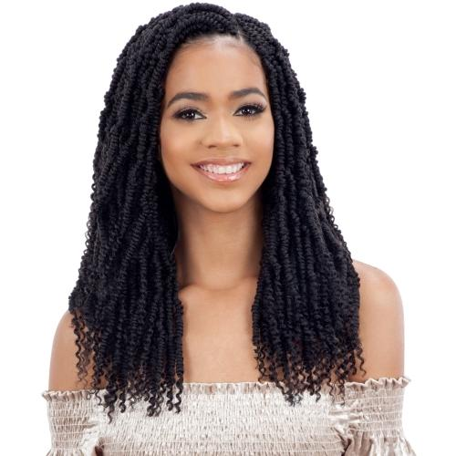 Model Model Synthetic Glance Braids – 2X Bomb Twist 14""