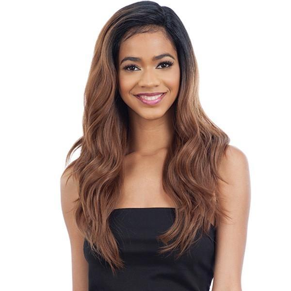 Model Model Half-Up Pre-Styled Synthetic Lace Front Wig – Bliss